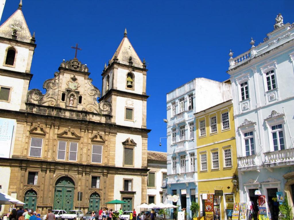 Arrivée à Salvador et découverte des quartiers coloniaux