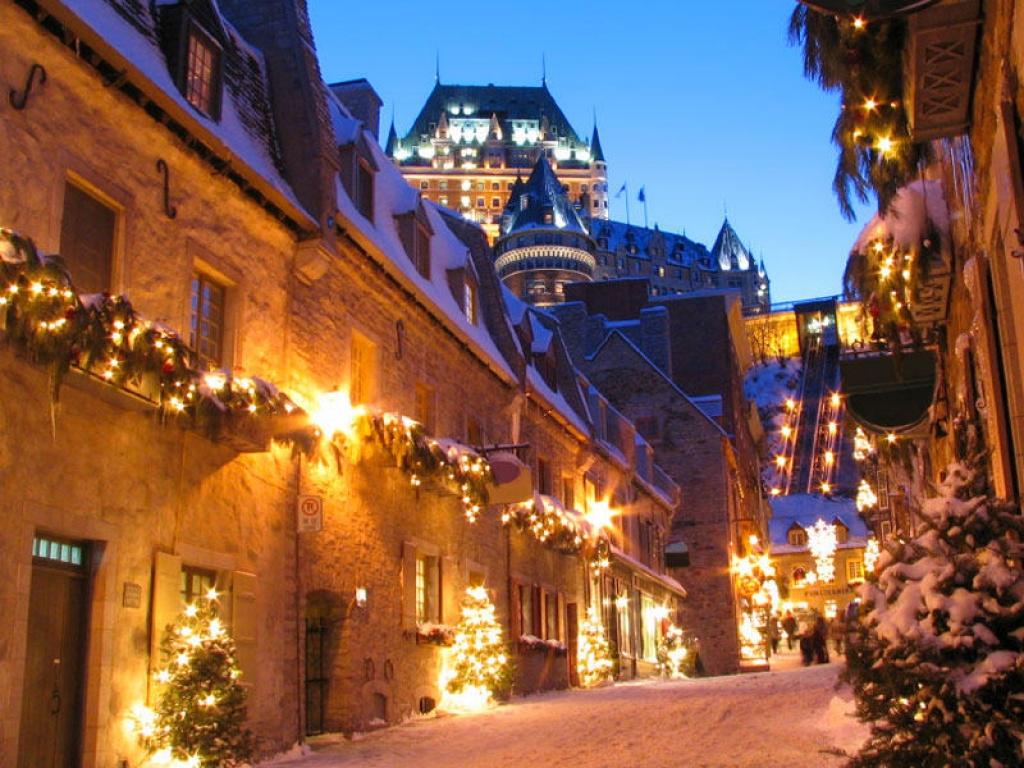 Visite de Québec, vieille ville fortifié