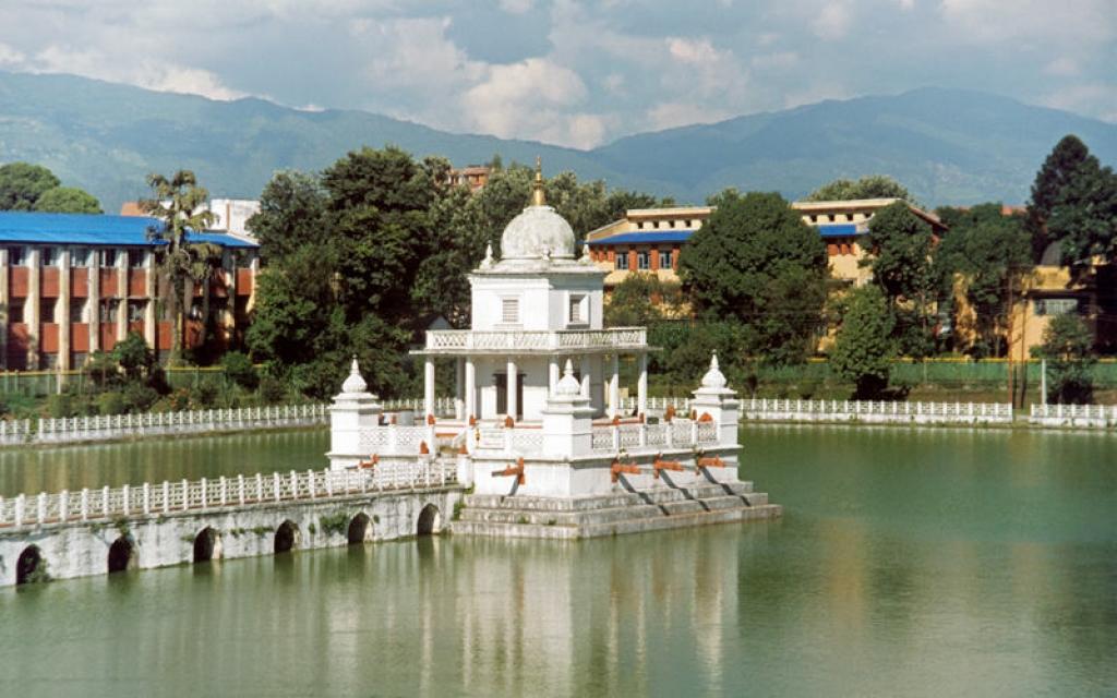 Le Palais Royal et le Temple de Krishna