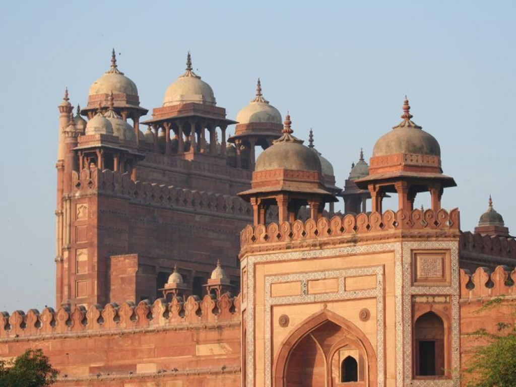 Route vers Agra