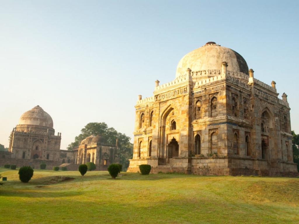 En chemin pour Delhi