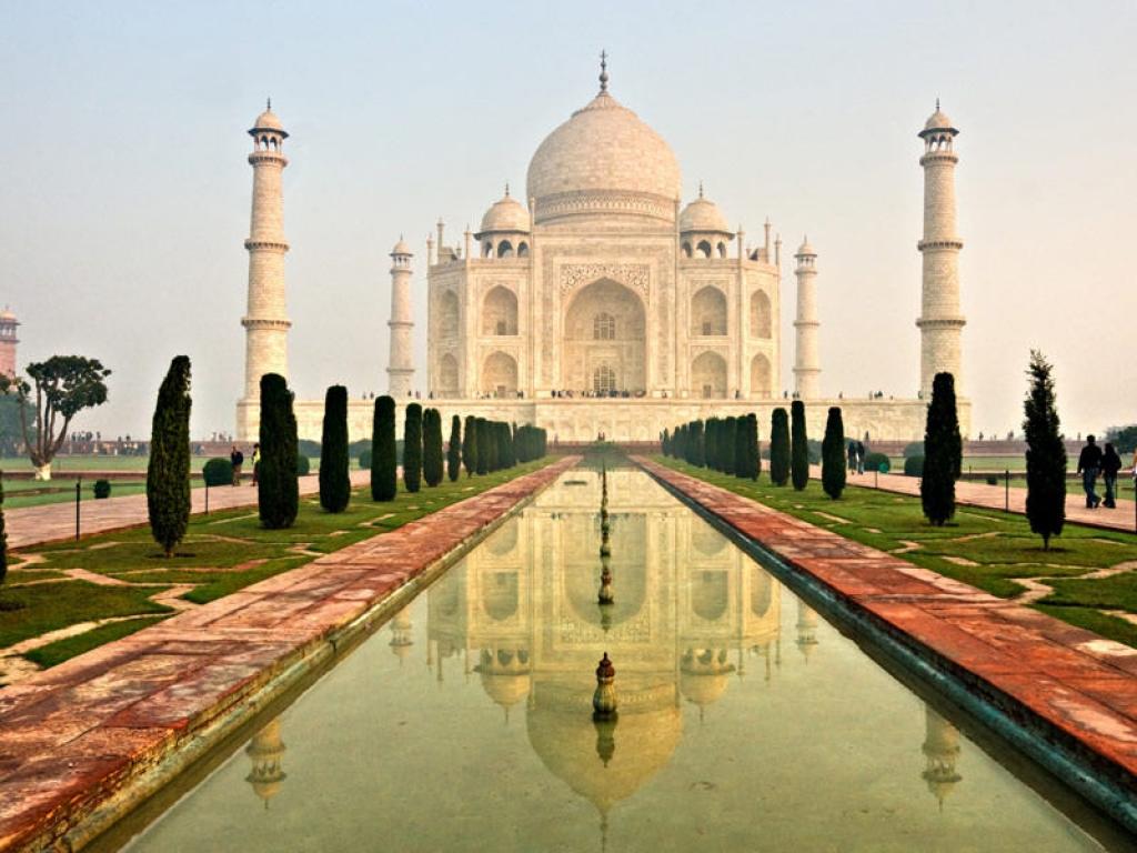 Le Taj Mahal et départ