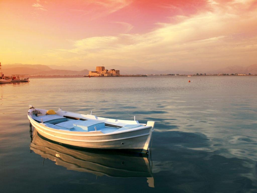 Balade en bateau sur le Gange