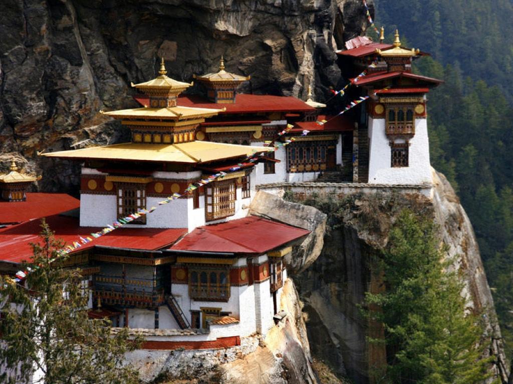 Le monastère de Taksang