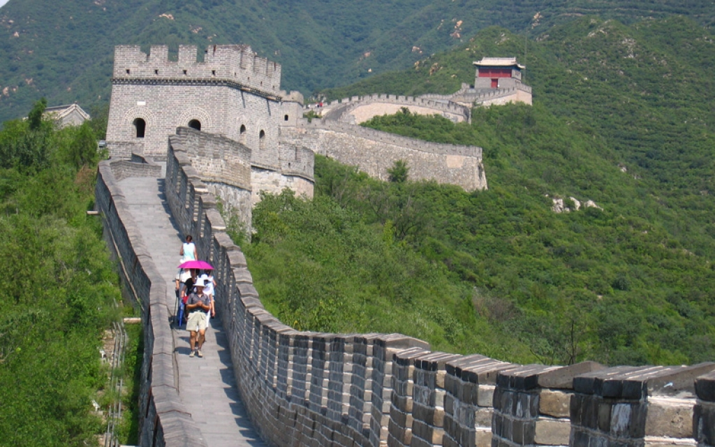 Voir la grande muraille…