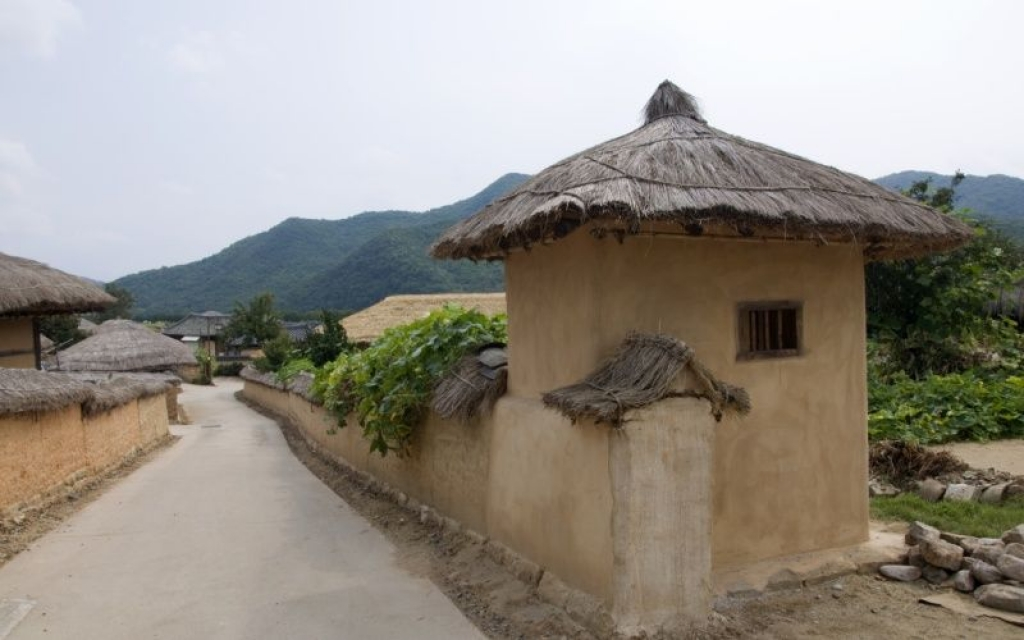Au cœur d'un village traditionnel coréen