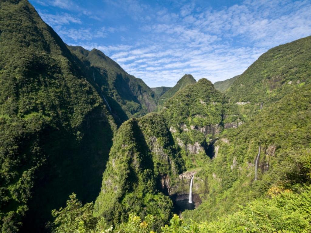 Arrivée à la Réunion
