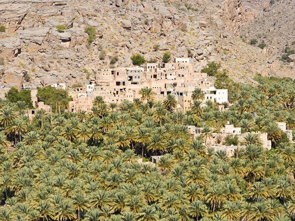 Paysages, villages et wadis du Hajar