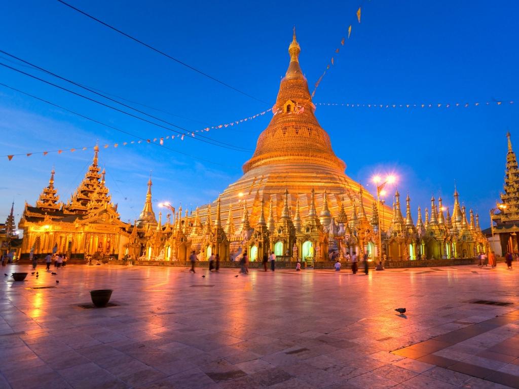 Charme colonial de Yangon