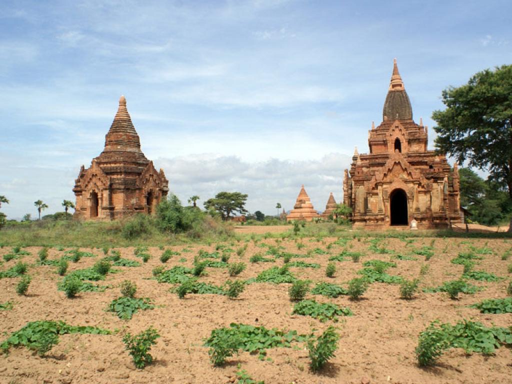 Flâneries à Bagan