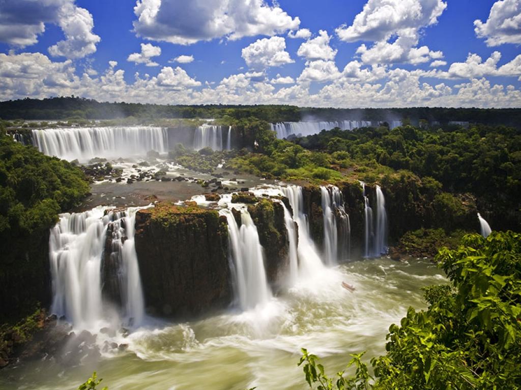 Arrivée à Iguazu via Buenos Aires