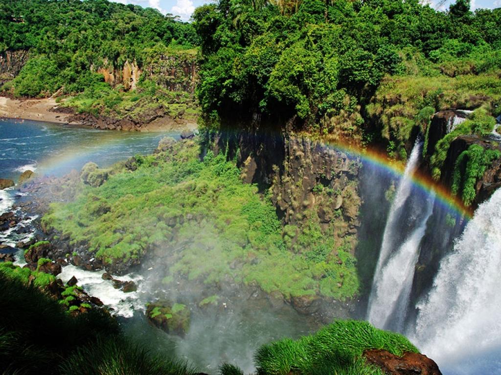 Les Chutes do Iguaçu coté Brésil!