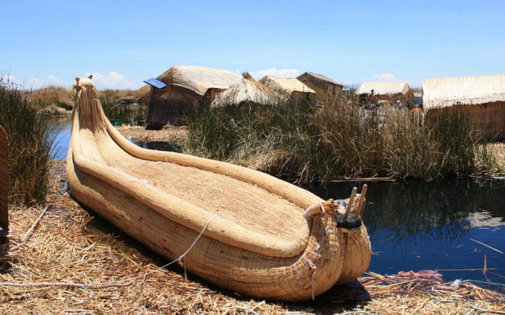 En Kayak sur le lac Titicaca