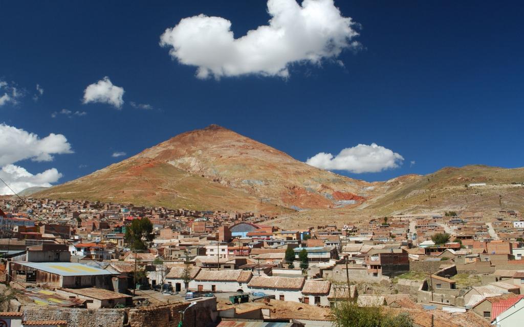 Sur la route de La Paz