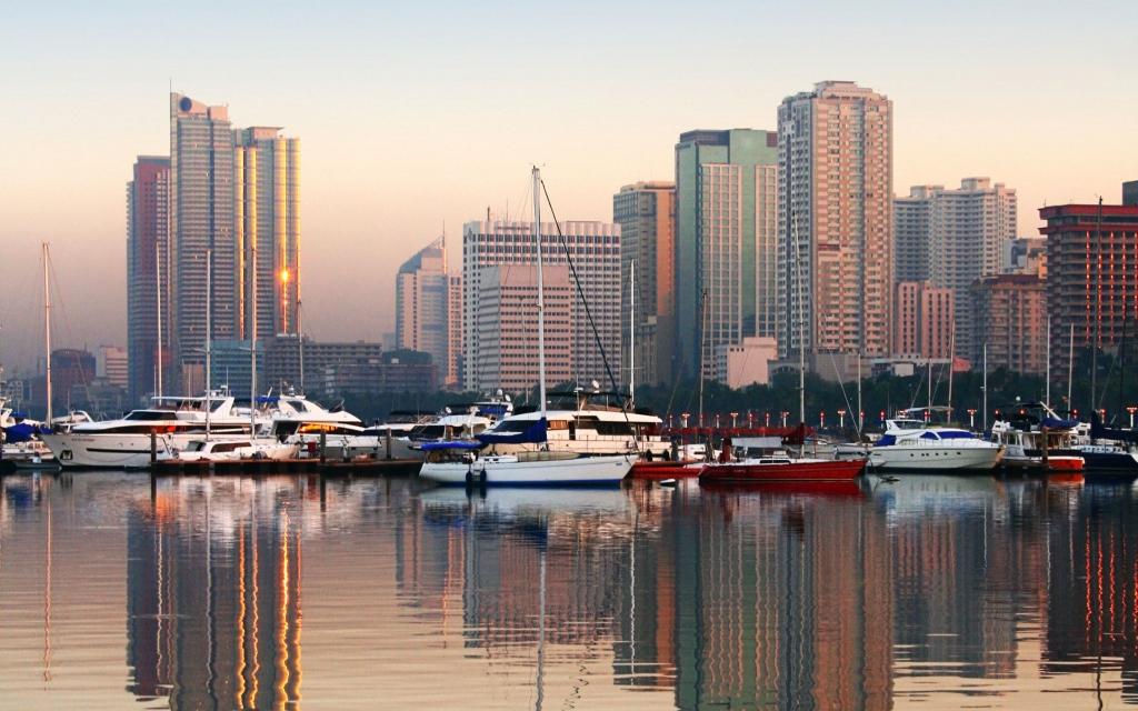 Arrivée et découverte de Manille