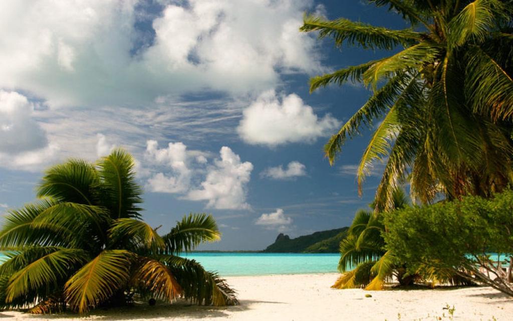 Départ de Bora Bora et décollage de Papeete
