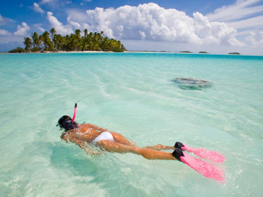 Splendeurs du plus beau lagon du monde