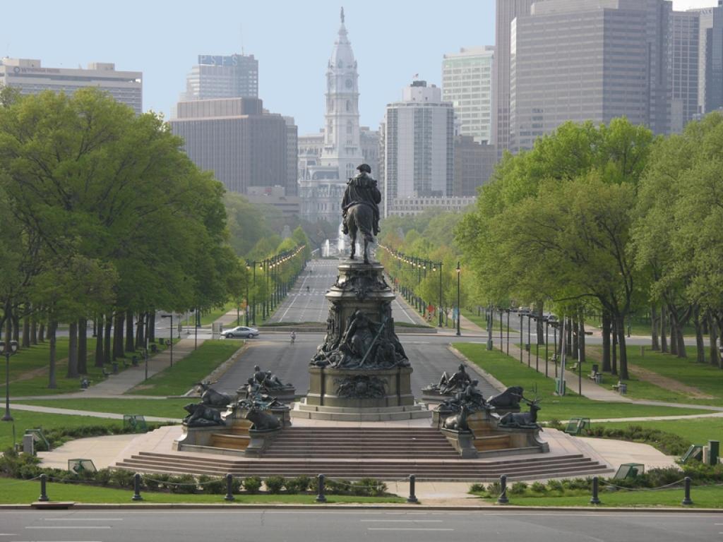 Départ pour Philadelphie