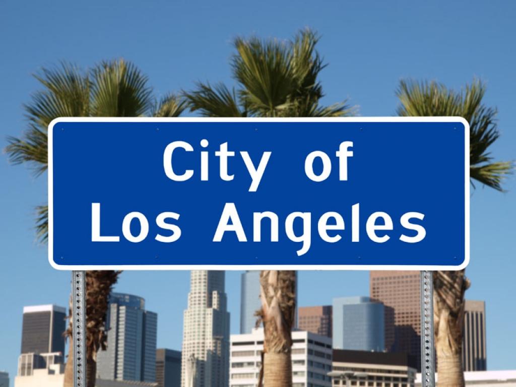 Route vers Los Angeles (238km)