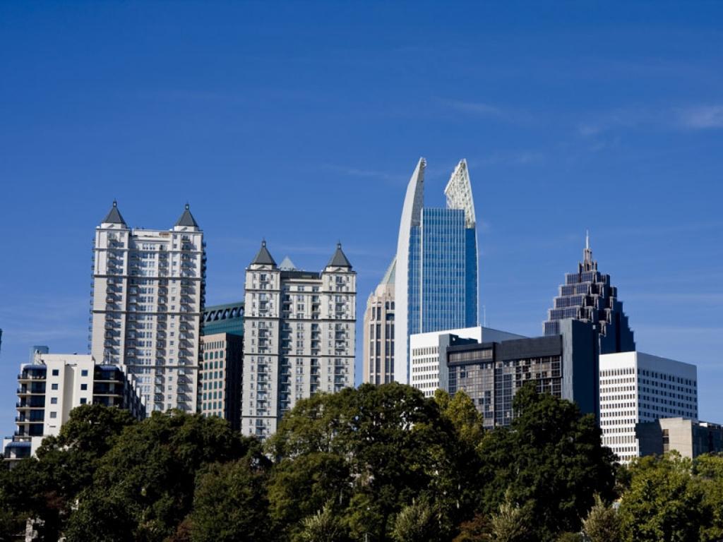 Visite d'Atlanta et route vers Chattanooga (190km)