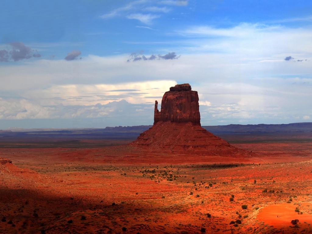 Départ pour Monument Valley