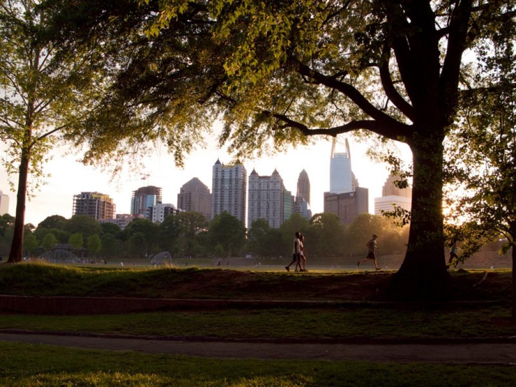 Départ d'Atlanta