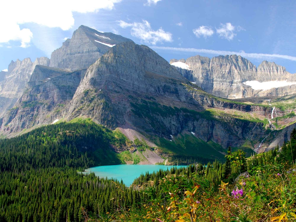 Randonnée dans le Glacier National Park