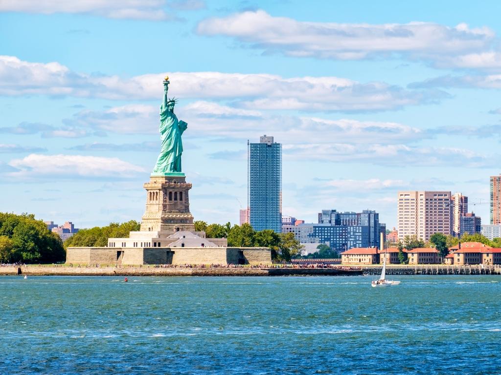 Statue de la Liberté et Ellis Island