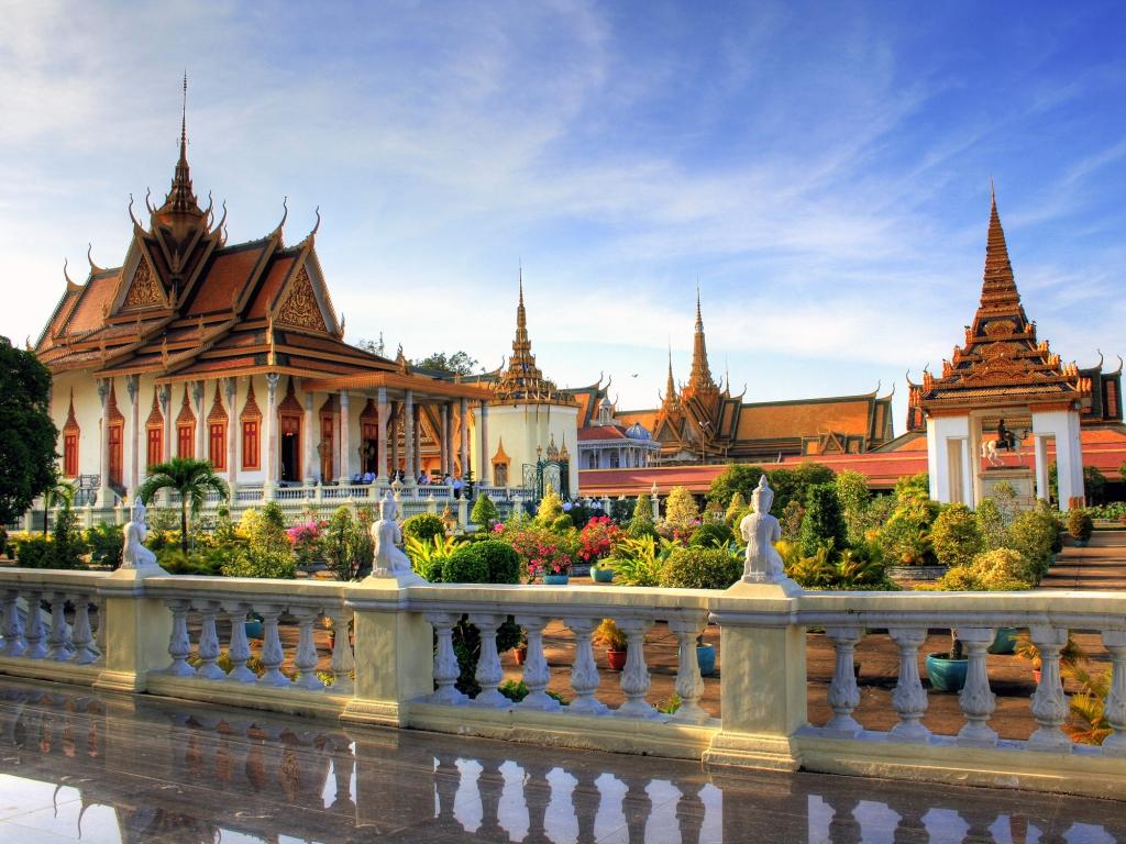 Visite de la capitale cambodgienne