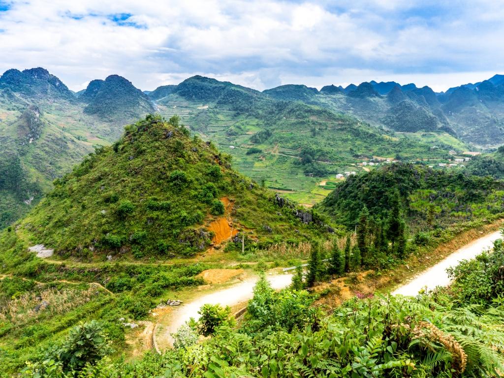La région de Dong Van et Meo Vac