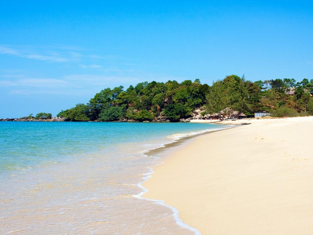 Détente sur une île paradisiaque