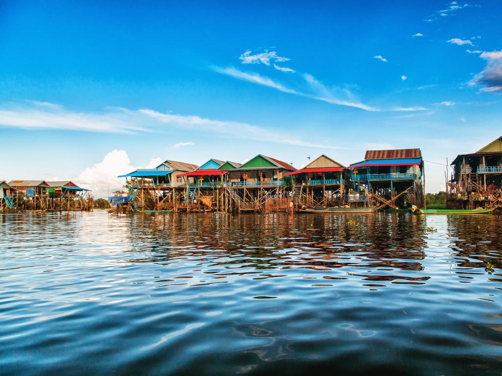 Le lac Tonle Sap