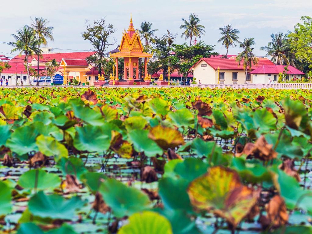 En route pour Kampot