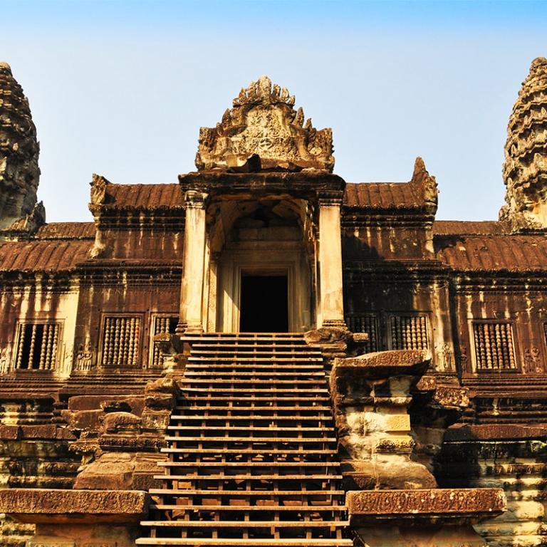 Départ du Cambodge