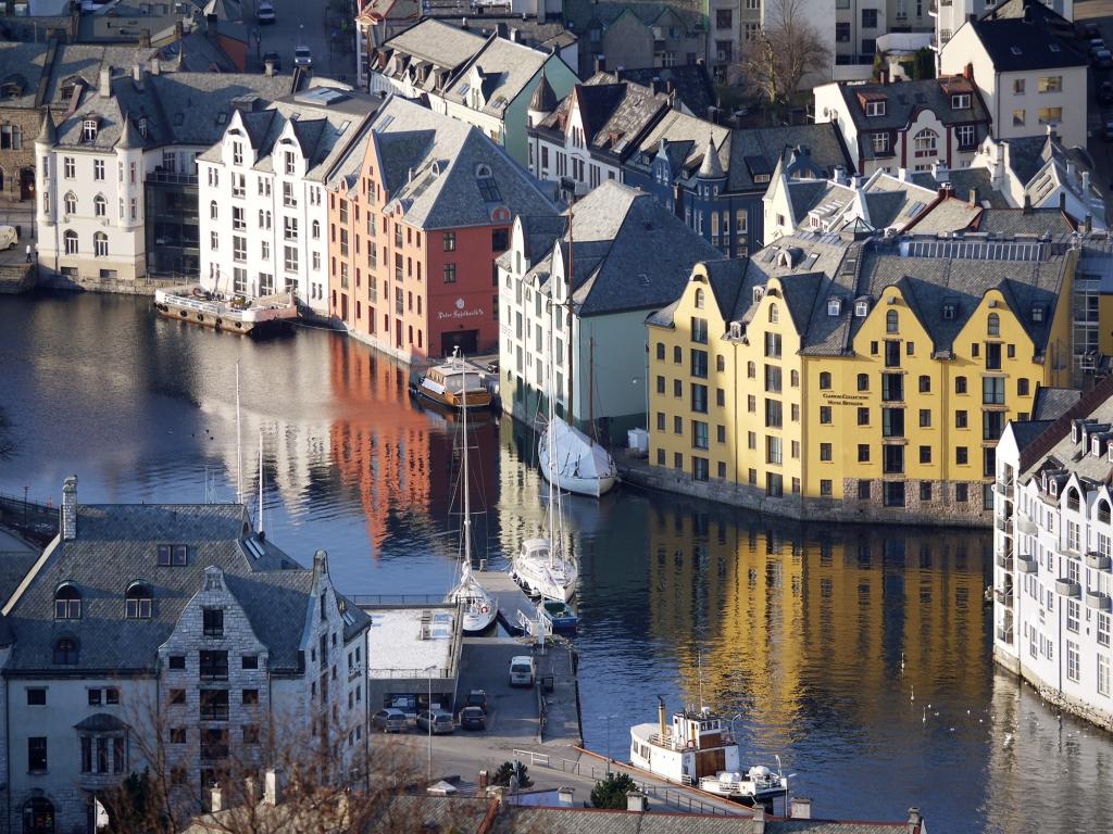 Si jolie Ålesund, la venise du Nord