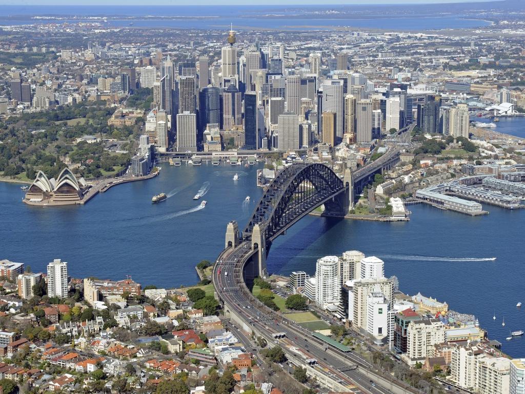 Départ et arrivée à Sydney