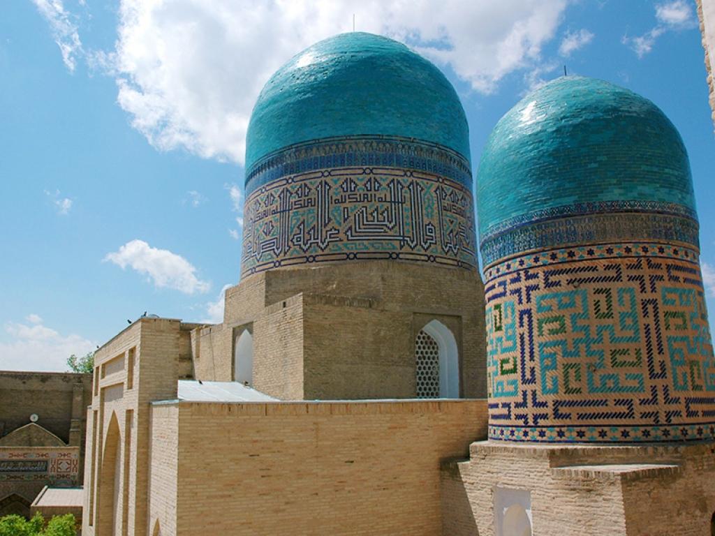Route vers la capitale de l'Ouzbekistan