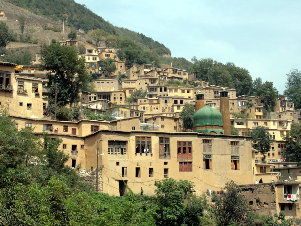 Le pittoresque village de Masouleh