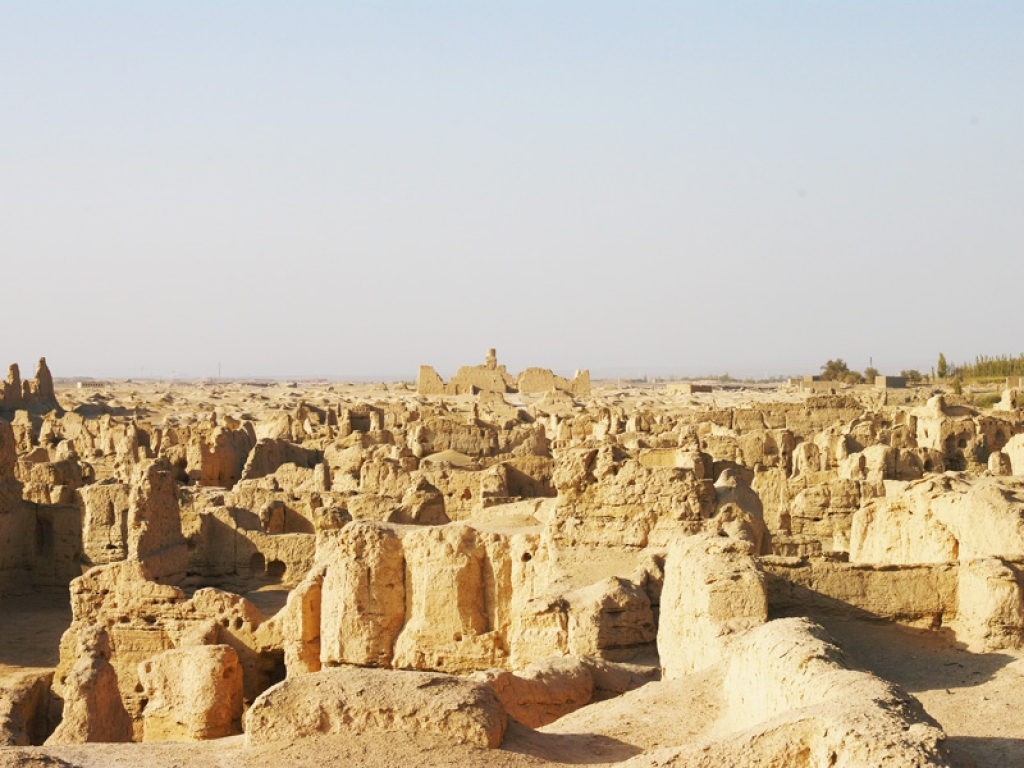 Des monuments bouddhistes
