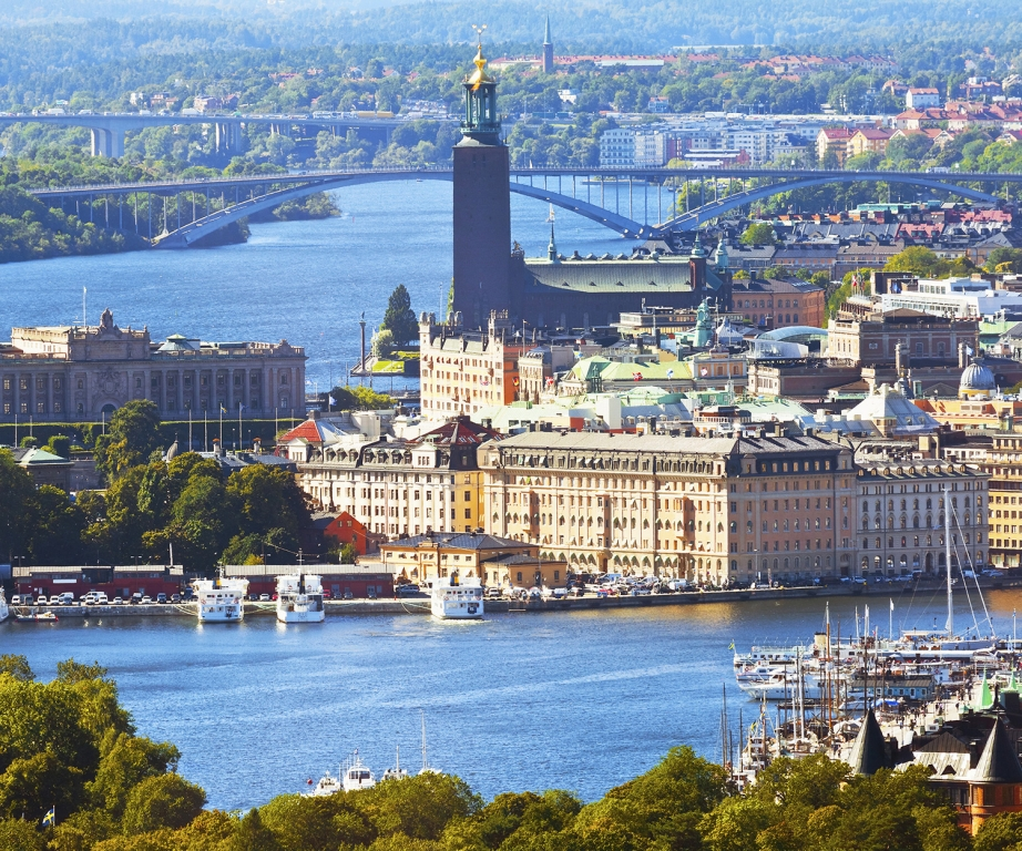 La perle scandinave, Stockholm