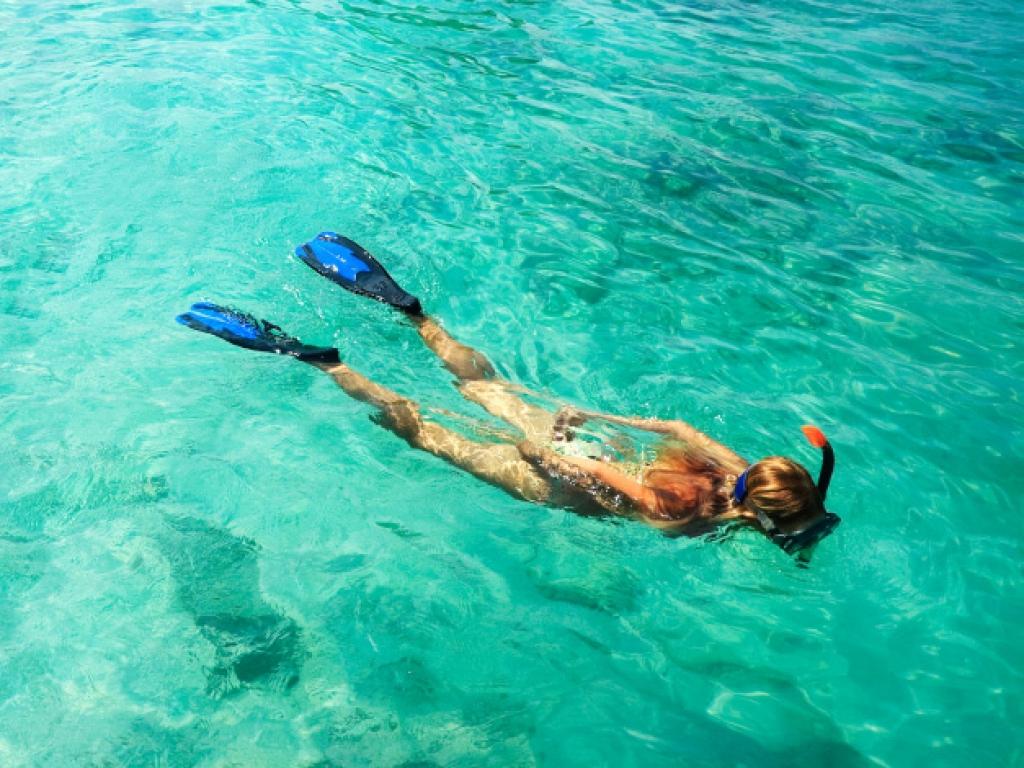Journée de plongée dans la spectaculaire réserve marine de Hol Chan