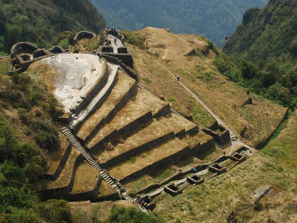 Trek sur le Chemin des Incas-3ème jour de marche