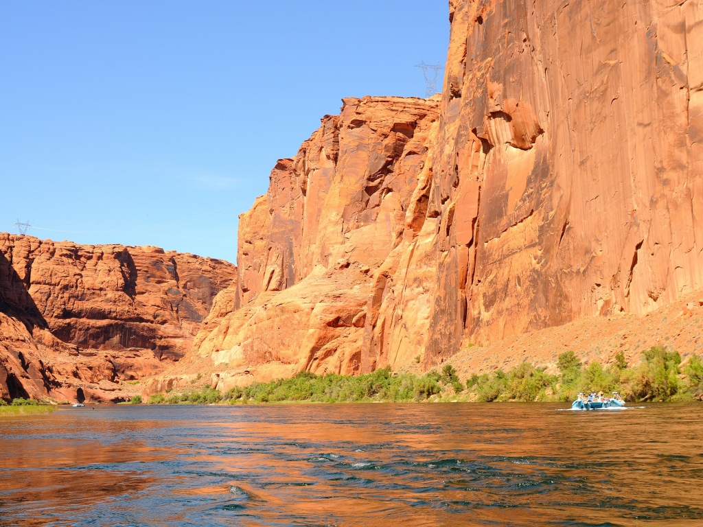 4 jours de Rafting sur le Colorado