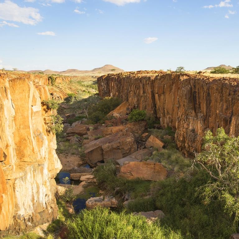 Paysages époustouflants du Damaraland (300 km)