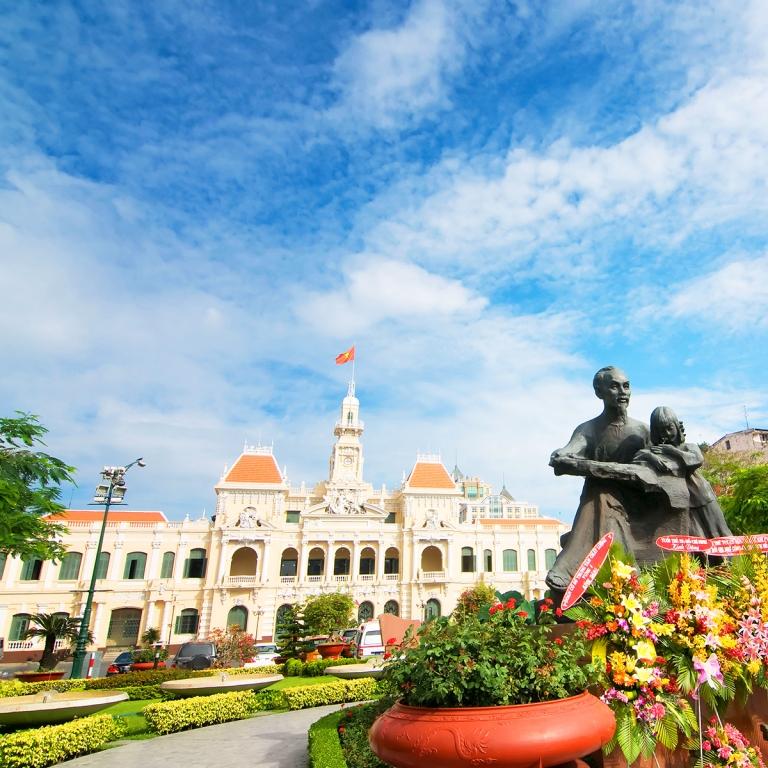Première découverte de Saigon