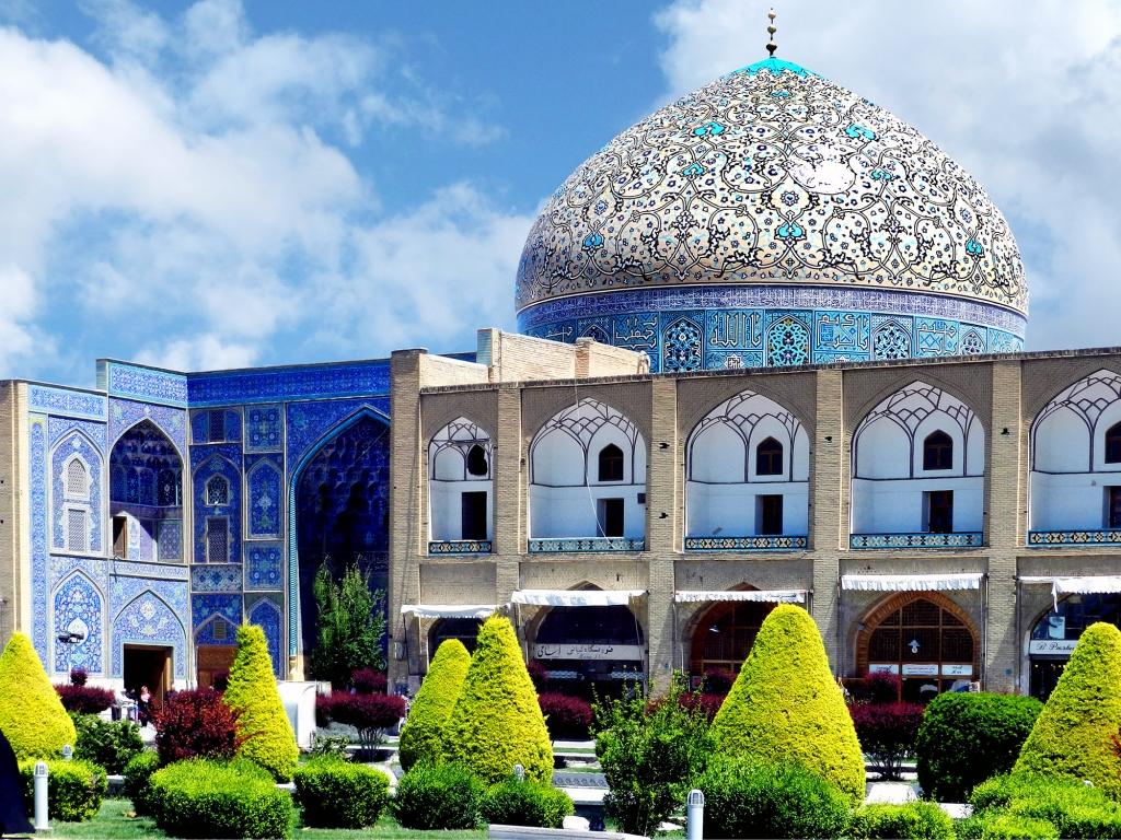 En route vers Ispahan