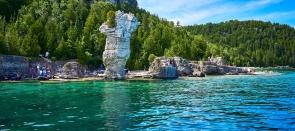 Îles et Parcs en Ontario
