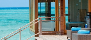 Désert d'Abu Dhabi et plages des Maldives