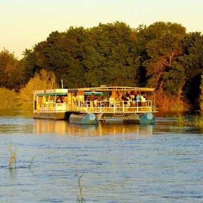 Croisière sur le Zambèze au coucher du soleil