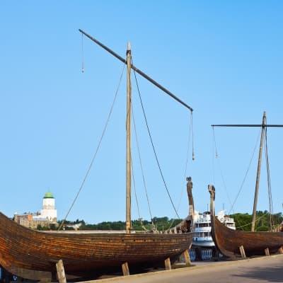 Croisière sur un drakkar viking